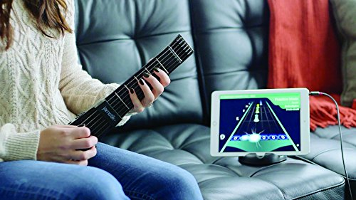 Jamstik+ Black Portable App Enabled MIDI Electric Guitar, for Beginners and Music Creators, iOS, Android & Mac Compatible, with Bluetooth Connectivity, Powered by Zivix by Zivix (Image #7)