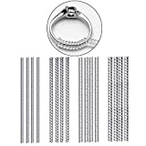Ring Size Adjuster,Safe and Durable Ring Size Adjuster for Loose Rings Size Adjusters for Men Women Rings (16 Pack)