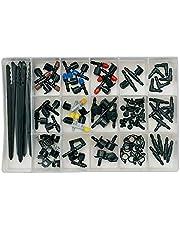 Orbit 69500 92-Piece Drip Irrigation Assortment Kit, Black