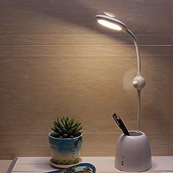Turcom Airlight Led Desk Lamp With Bladeless Cooling Fan