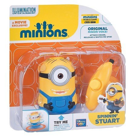 Despicable Me Spinning Stuart Minion - Speaks Phrases and Spinning motion
