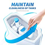 Vacplus Toilet Tank Cleaner Tablets, Instant