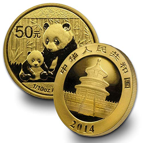 - 1982 CN -Present China Gold Panda (Random Year) 1/10oz Brilliant Uncirculated