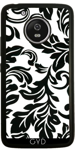 Funda de silicona para Moto G5 - Modelo Blanco Y Negro by wamdesign