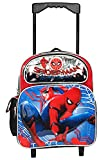 Marvel Spiderman Home Coming 12'' Toddler Mini Rolling Backpack