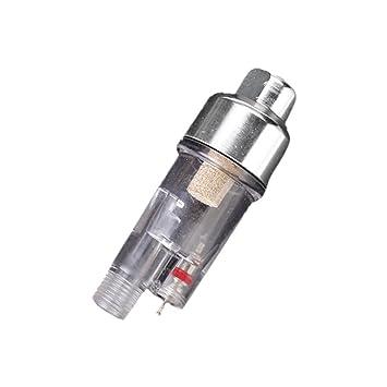 """Generic - 1/8 """" mini aerógrafo aire humedad filtro filtro colector de agua"""