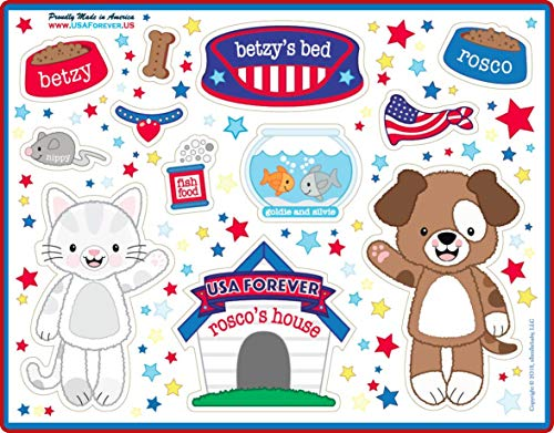 USA Forever All-American Family Magnetic Play Sets & Puzzles Collection by USA Forever (Image #2)