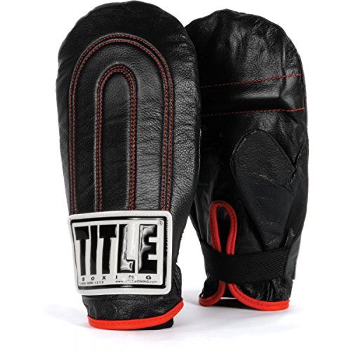 TITLE Leather Speed Bag Gloves