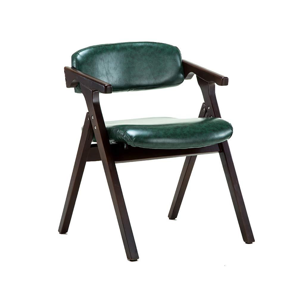 Amazon.com: Silla Ailj, sillón de madera maciza, silla de ...