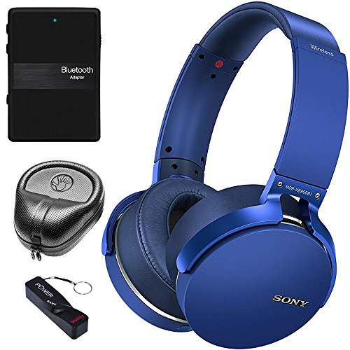 Sony XB950B1 Extra Bass Wireless Headphones with App Control, Blue (2017 model)...