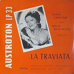 Verdi-la Traviata [Vinilo]