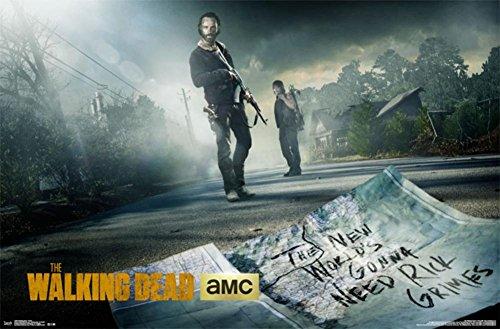 The Walking Dead - Street Poster