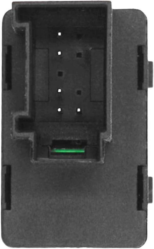 HZTWFC Interruptor el/éctrico de la ventana principal del lado del conductor OEM # 1J4959857B 1J4 959 857 1J4 959 857 B 1J4 959 857D A