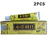 2pcs/Lot High Quality Chinese Herbal Eczema, Psoriasis Creams Dermatitis and Eczema Pruritus Psoriasis CEZUBEM Ointment