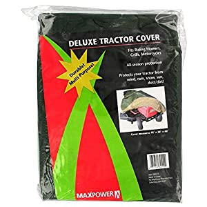 Maxpower 334510 Deluxe Mower Cover from Jensen Distribution Services