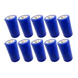 3.6V C Size ER 26500 9000mAh Lithium Thionyl Chloride Battery With Button Top (10pc)