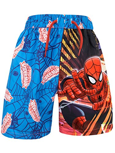 Spideman Boys Marvel Spider-man Swim Shorts Size 8