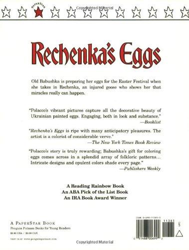 Rechenka's Eggs (Paperstar): Patricia Polacco: 9780698113855 ...