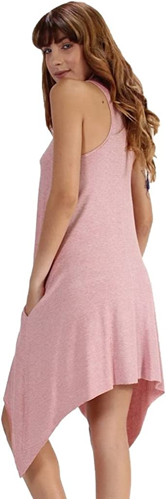 3 Colors ELAN High Neck Racerback Dress or Tunic