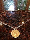 Greece 10 drachma coin necklace