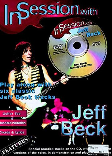 In Session with Jeff Beck: Guitar TAB (Book & CD)