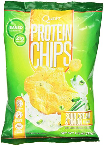 Protein Chips - Sour Cream & Onion 1.125 oz (32 grams) Bag(S)