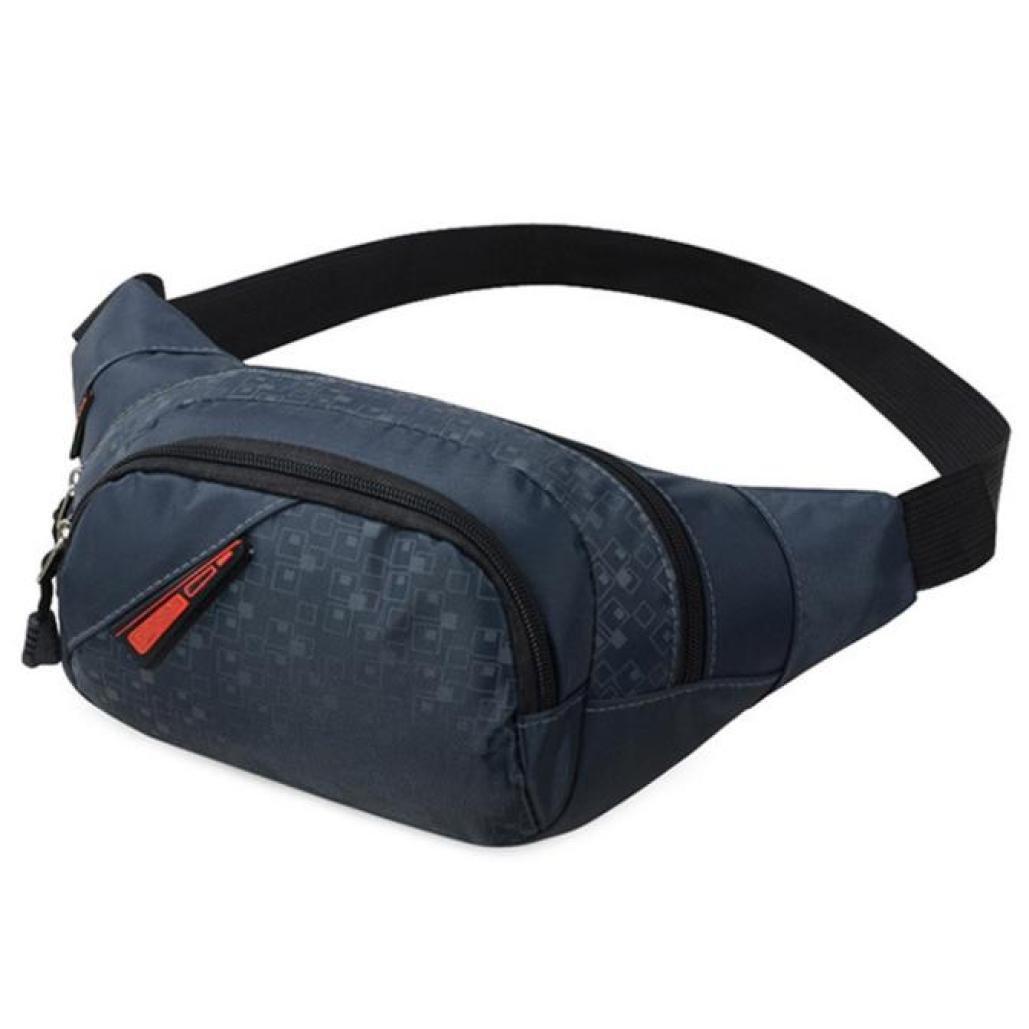 Malloom Universal Hombre y Mujer Deportes Bolsa de Port/átil Crossbody Ri/ñonera Bum Bag azul