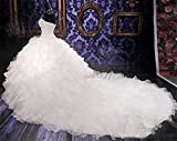 Lovelybride-Noble-Sweetheart-Beaded-Organza-Wedding-Dresses-Bridal-Gowns