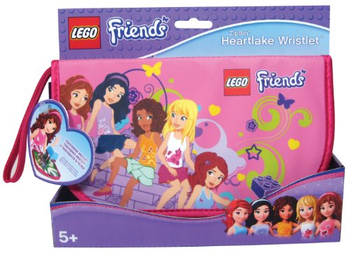 Neat-Oh! LEGO Friends ZipBin Heartlake Wristlet (Brick Lego Storage Friends)