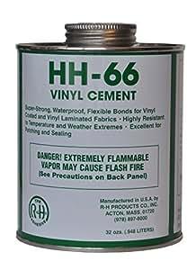 Hh 66 Pvc Vinyl Cement Glue With Brush 8oz By Hh 66 Pvc