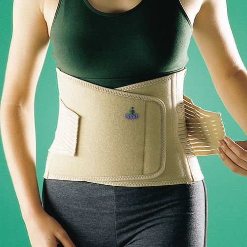 OPPO 2264 Back Sacro Lumbar Neoprene Strap Support 9 Double Pull Brace Wrap  (Extra Large) by SDA DIRECT df51c0588ce