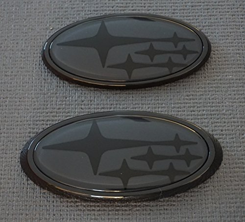 Front & Rear Glossy Badge Emblem For 2011-Up Compatible, used for sale  Delivered anywhere in USA