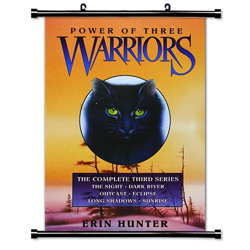 Warriors: Power of Three Erin Hunter Fabric Wall Scroll Poster Bk