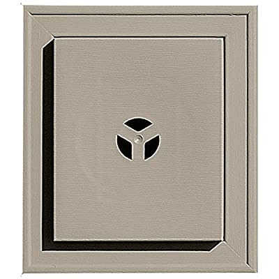 Builders Edge 130110002097 Squared Mounting Block 097, Clay
