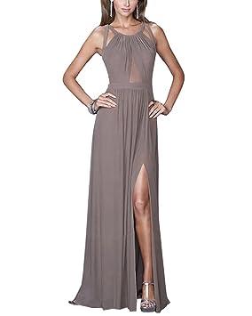 Vestidos Para Mujer Vintage Casual Coctel Sin Espalda Fiesta Para Bodas Largos De Noche Ceremonia Ropa