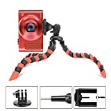 Tairoad 3 in 1 Flexible Mini Tripod for DSLR /Action Cam /Smartphone Bendable Tripod Selfie Monopod