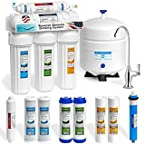 5 Stage Home Drinking Reverse Osmosis System PLUS Extra 4 EXP Water USA Filters