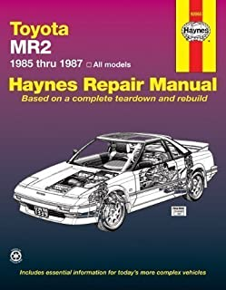 toyota mr2 85 87 haynes repair manuals haynes 0038345013393 rh amazon com 1991 Toyota MR2 1995 Toyota MR2