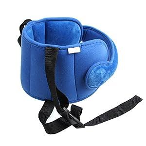 AIPINQI Car Seat Head Support, Kids Toddler Carseat Head Support Band Head Strap Head Support for Car Seat Safe Sleep…