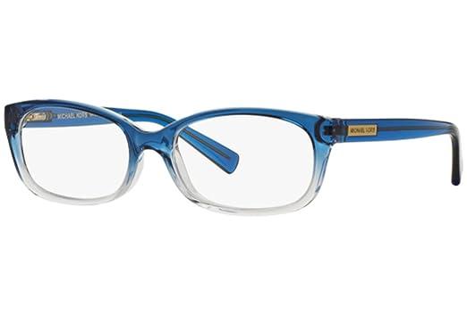 Michael Kors MITZI V MK8020 Eyeglass Frames 3122-51 - Blue Clear ...