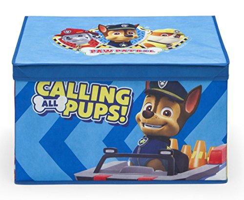 Paw Patrol Fabric Storage Toy Box Blue