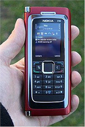 Nokia E90 Communicator Red Unlocked Smart Cell Phone Buy