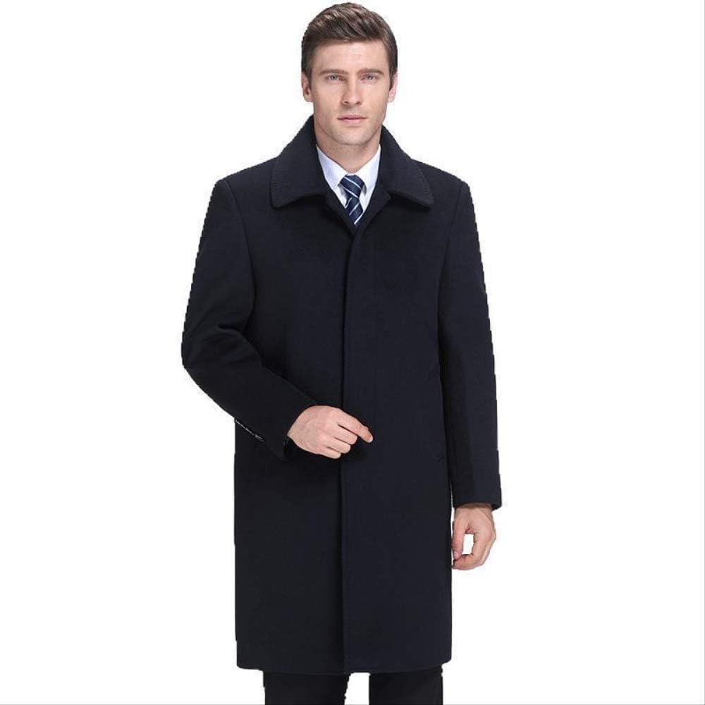 ZSCRL Manteau de Cachemire Haut de Gamme pour Hommes