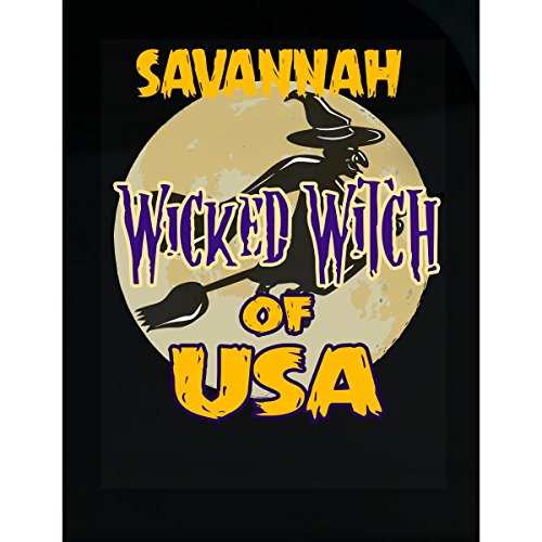 Prints Express Halloween Costume Savannah Wicked Witch of USA Great Personalized Gift - Sticker -