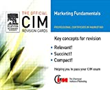 img - for CIM Revision Cards 05/06: Marketing Fundamentals (Official CIM Revision Cards) book / textbook / text book