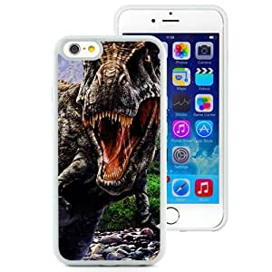 Beautiful And Unique Designed With Dinosaur Jaws Aggression Stones Trees (2) For iPhone 6 4.7 Inch TPU Phone Case