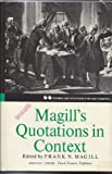 img - for Magill's Quotations In Context, (V.2) Second Series, Volume Two: LIV-Z book / textbook / text book