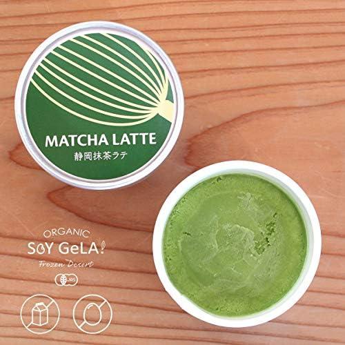 Soy GeLA! MATCHA LATTE 100m 12個 国産 抹茶 オーガニック 低カロリー 豆乳 ジェラート ギフト