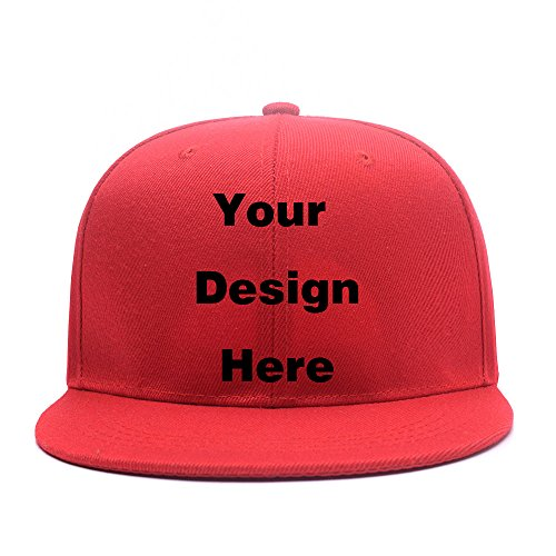 Custom Personalized Adjustable Plain Snapback Cap Design Picture or Text Print Hat