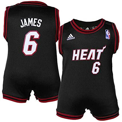 100% authentic f3dda 00b1e Amazon.com : NBA adidas Miami Heat #6 LeBron James Infant ...